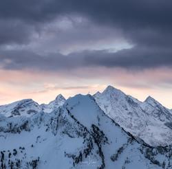 white peaks