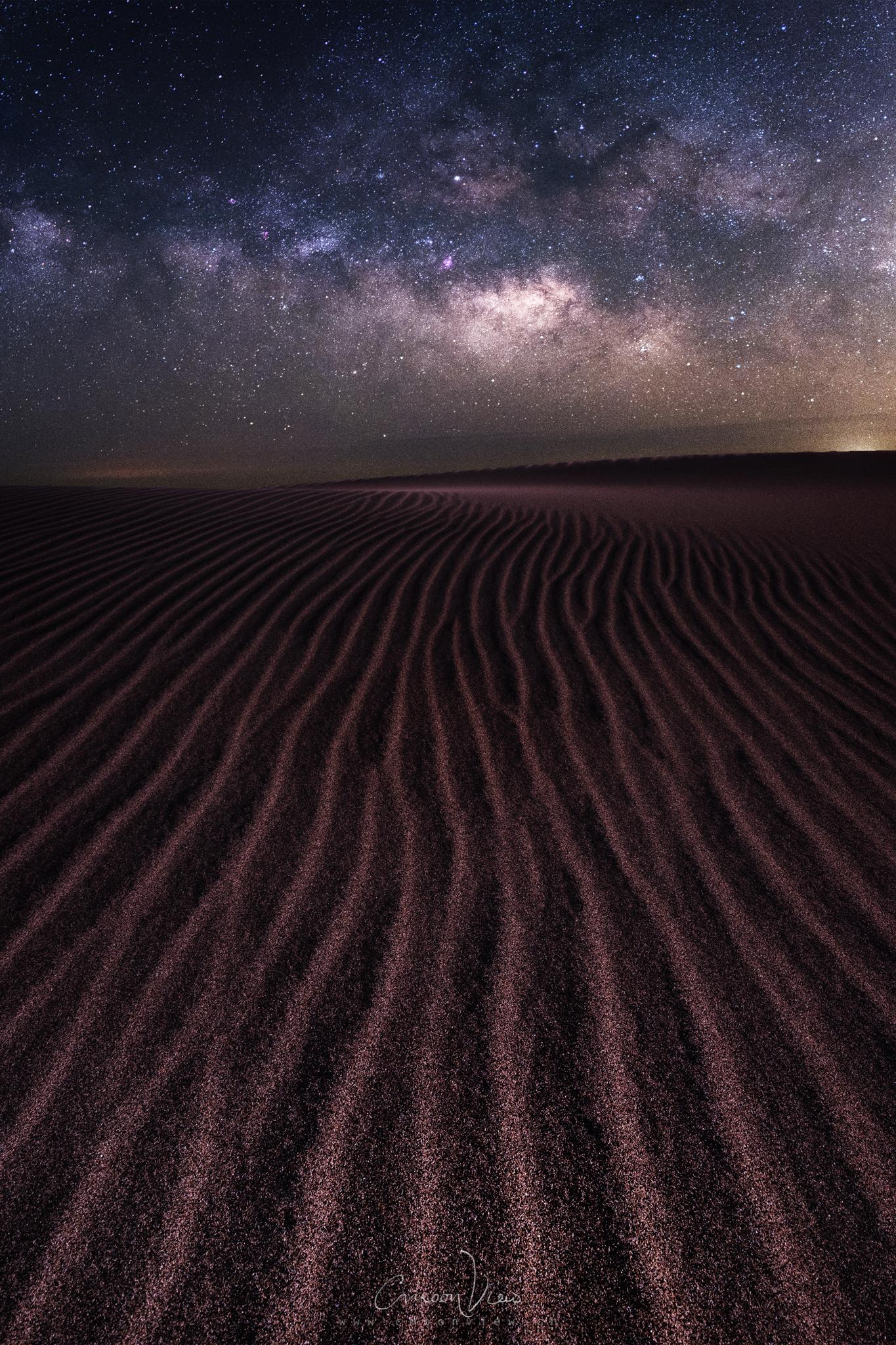 milky desert