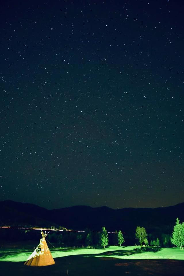 北海道的夜空