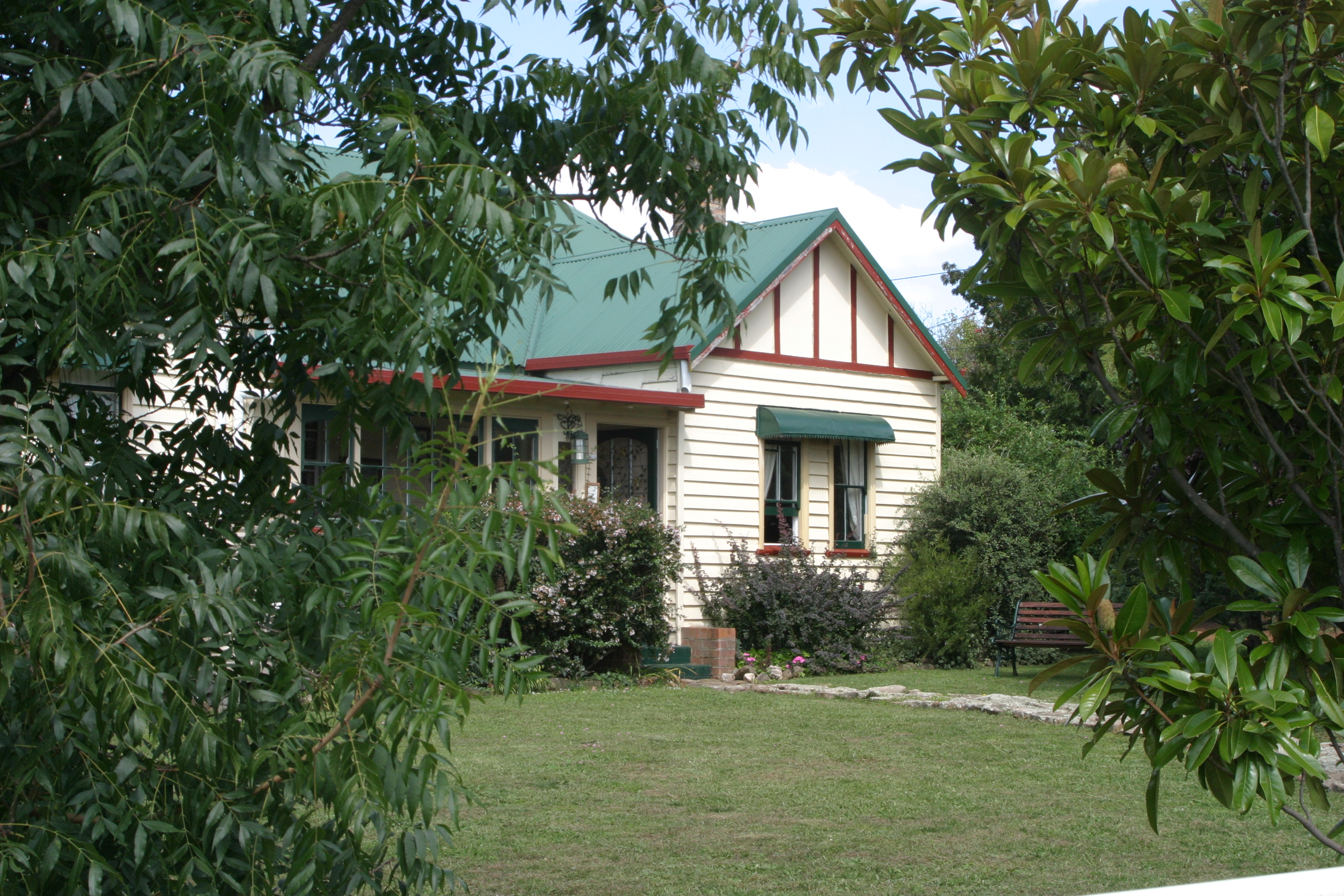The Sharron Park homestead
