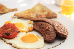 Hearty home cooked breakfasts