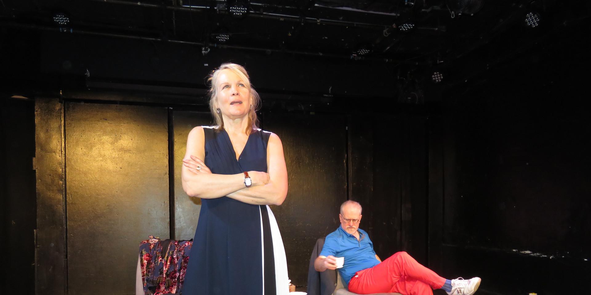 Donna Svennevik and Daniel Popowhich in Adrift.
