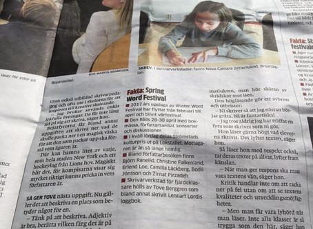Kom Å Skriv i Strömstads Tidning
