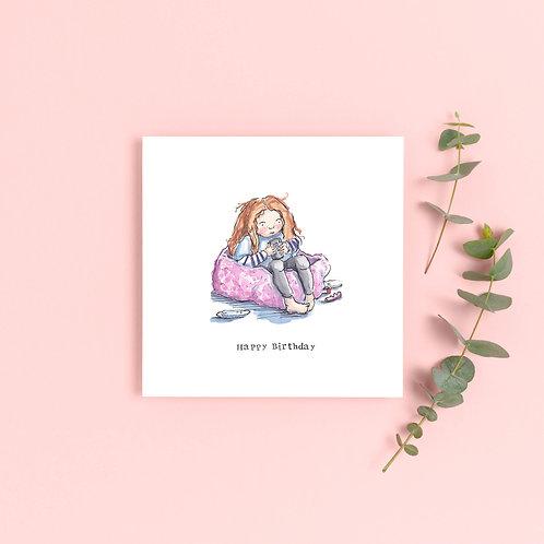 Teenager Girl Birthday Card