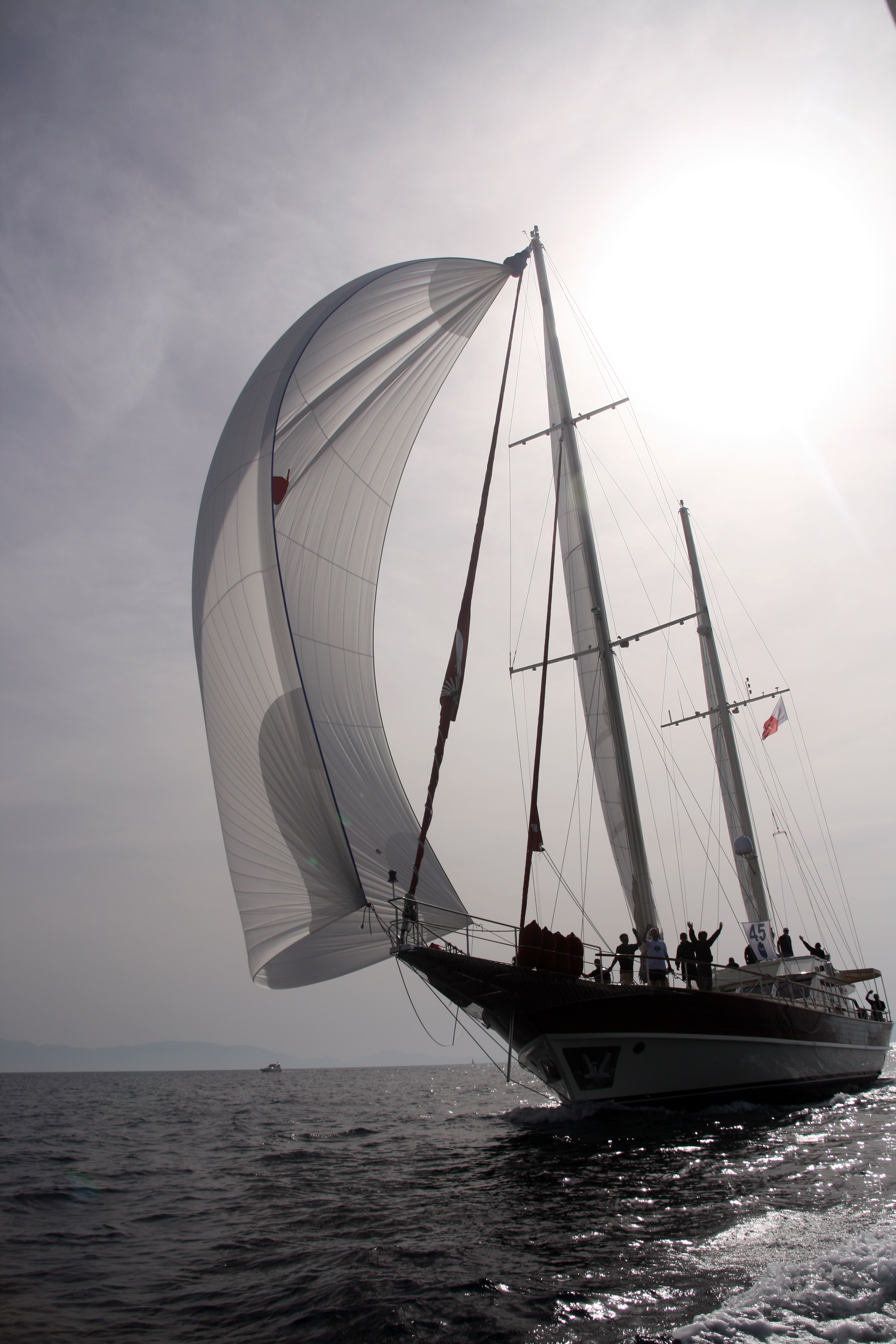 SERENITY 86 - Bodrum Cup Finish Line.jpg