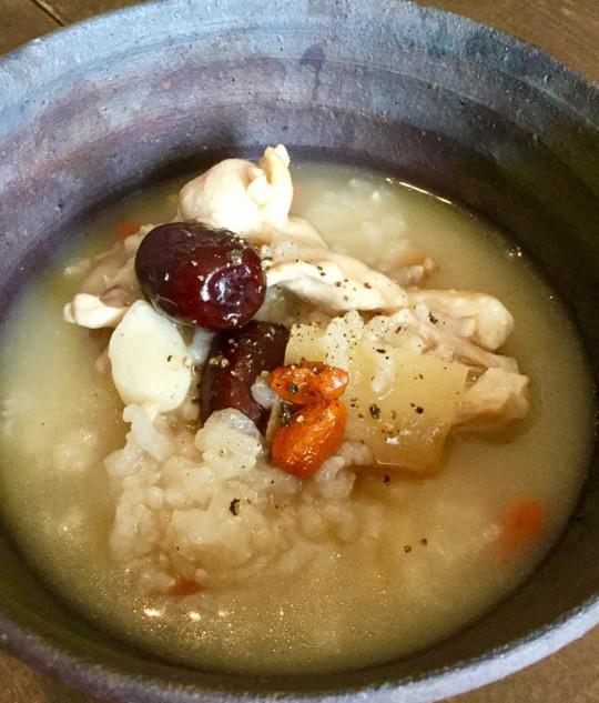 炊飯器で作る参鶏湯