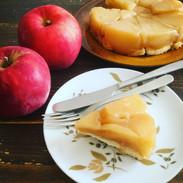 りんごのタタン風ケーキ
