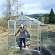 Finally got the starter greenhouse up! C