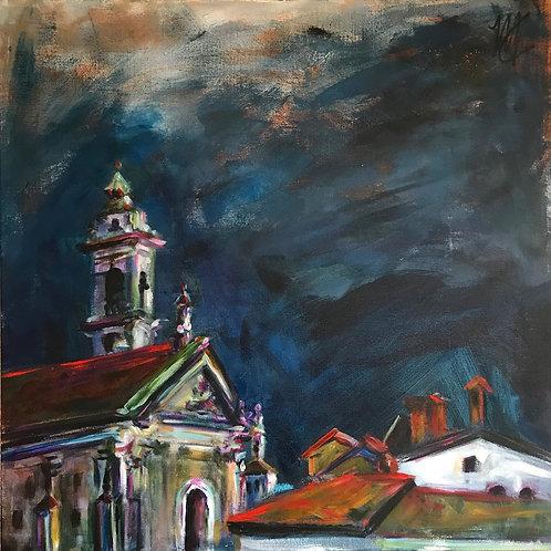 Storm Over Bergamo