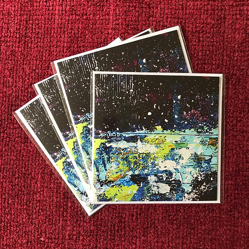 Stars and Snow - Pack of 4