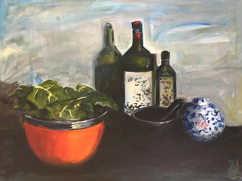 Still Life with Kale