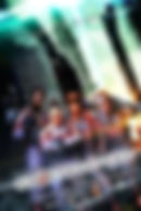 Session drummer Matt Laug performing on the Paris Hilton Carl's Jr TV Ad.