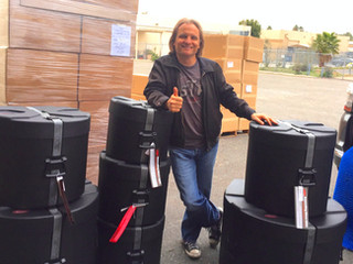 Thank You SKB Drum Cases!!!!
