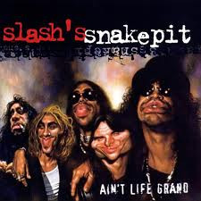 Rare Video Of Slash's Snakepit Tracking In The Studio, July 1999.