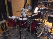 Studio session drummer Matt Laug - Album date with Toshi Yanagi (Guitarist for The Jimmy Kimmel Show
