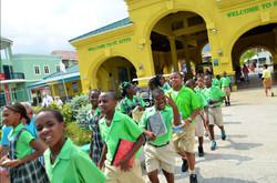 School Children at Port Zante