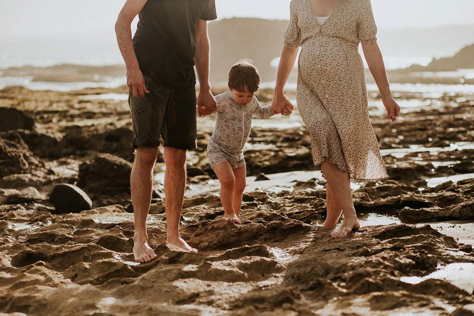 Family Beach Photographer | Angelsea | Paige Gotts Photography