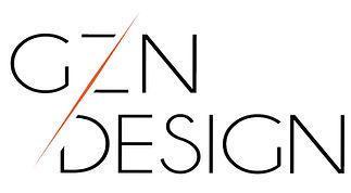 Logo atelier d'architecture d'intérieur  GZN DESIGN