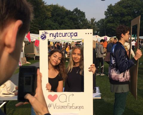 #VisionerForEuropa på Ungdommens Folkemøde 2016