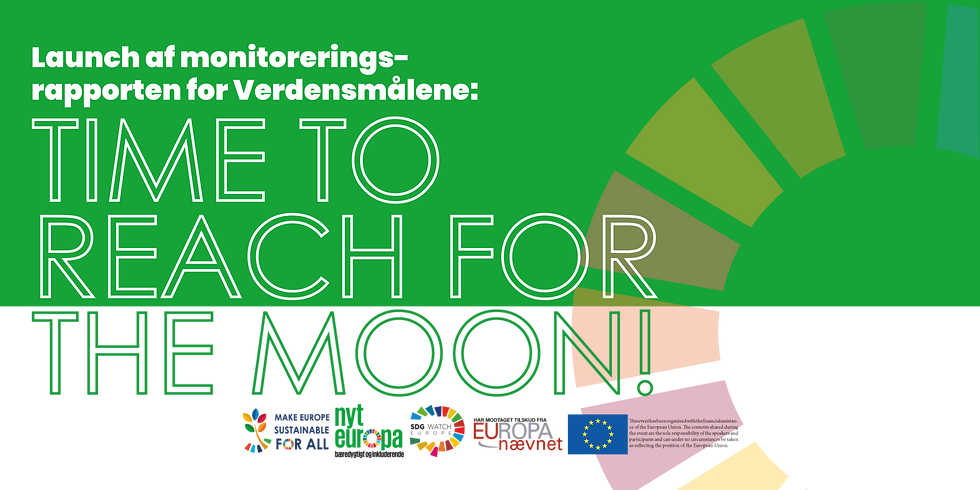Launch af rapport om Verdensmålene: 'Time to reach for the moon'