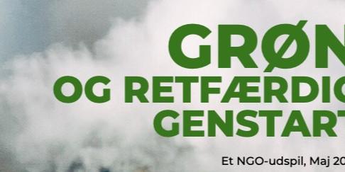 Vi skal have en Grøn Genstart – Udspil fra 17 NGO'er