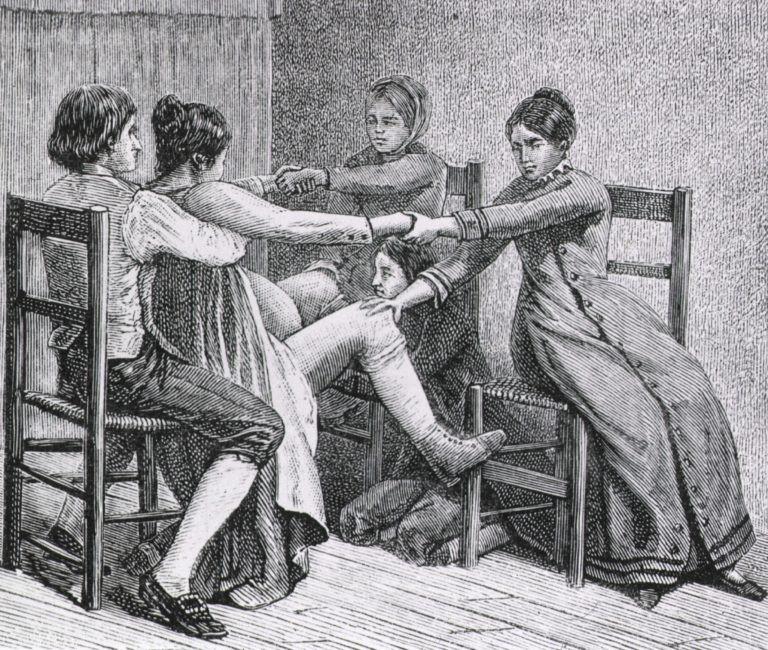 Pioneer Birth Scene 1887