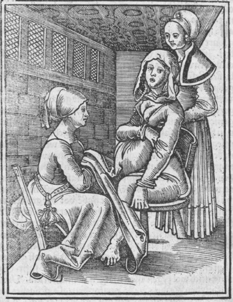 Birth with Midwives in the Middle Ages