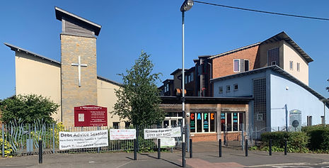 Front of The Withywood Centre