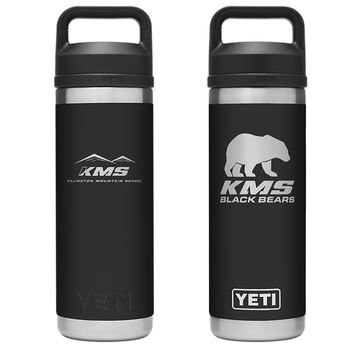KMS YETI® 18oz Rambler Bottle with Chug Cap