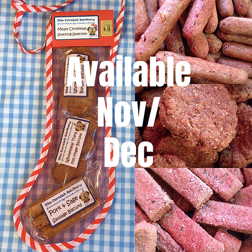 Meaty Christmas Stocking Selection