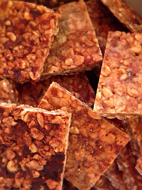 LOW FAT WHEAT FREE Fishy Flapjack