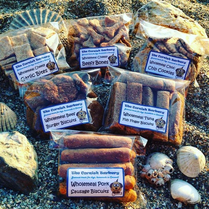 The Cornish Barkery has a range of homemade healthy dog treats
