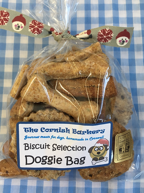 Festive Wholemeal Biscuit Selection Doggie Bag