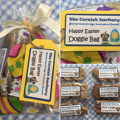 Happy Easter Doggie Gift Bag