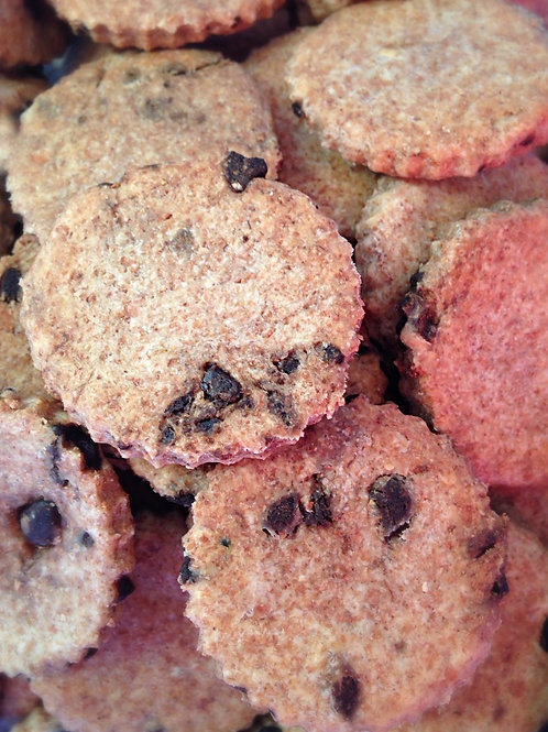 Wholemeal Choc Chip Cookies