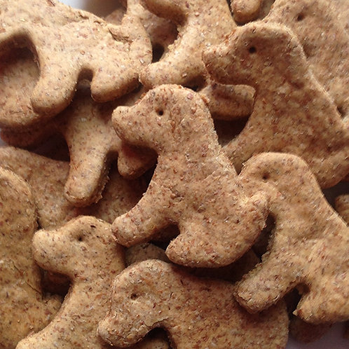 Wholemeal Gingerbread Dogs