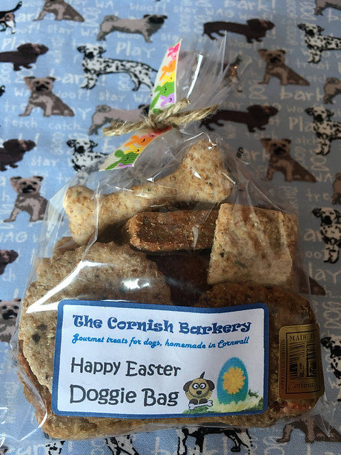 Happy Easter Biscuit Selection Doggie Bag