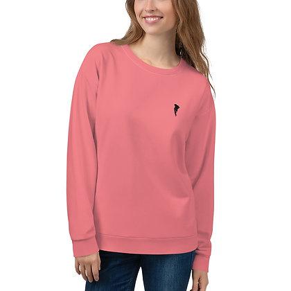 LL Unisex Sweatshirt Dusky Pink