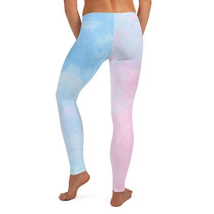 Pink to Blue Leggings