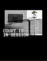 Monochrome Basketball Court Photo Sports