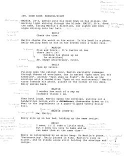 Distant Script Annotation