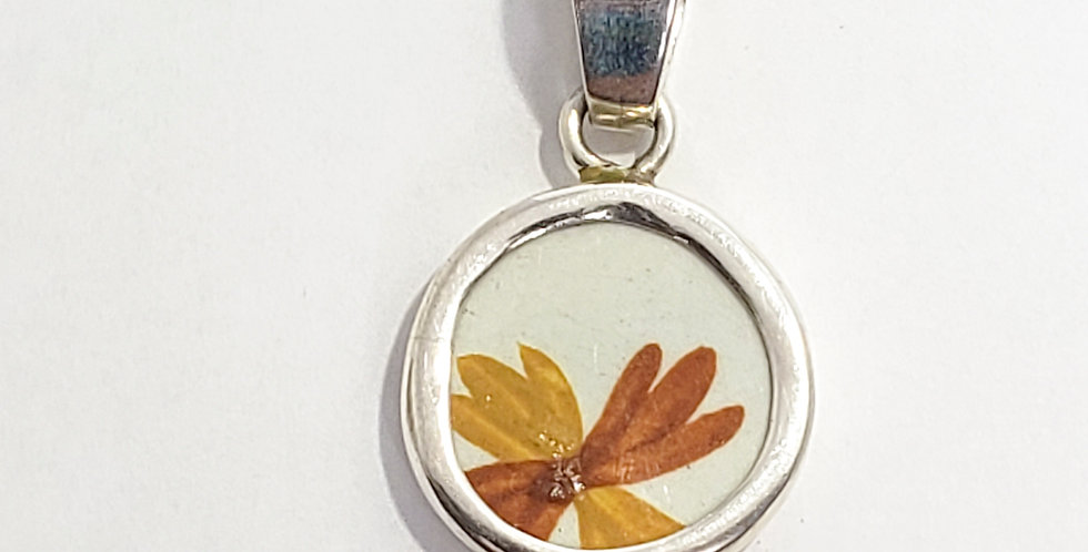 Chaney Twin dragonflies Pendant