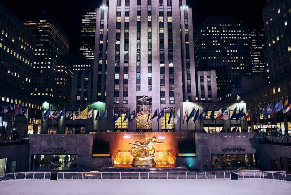 USA / New York City / 06.03.2018 /  Rockefeller Center.
