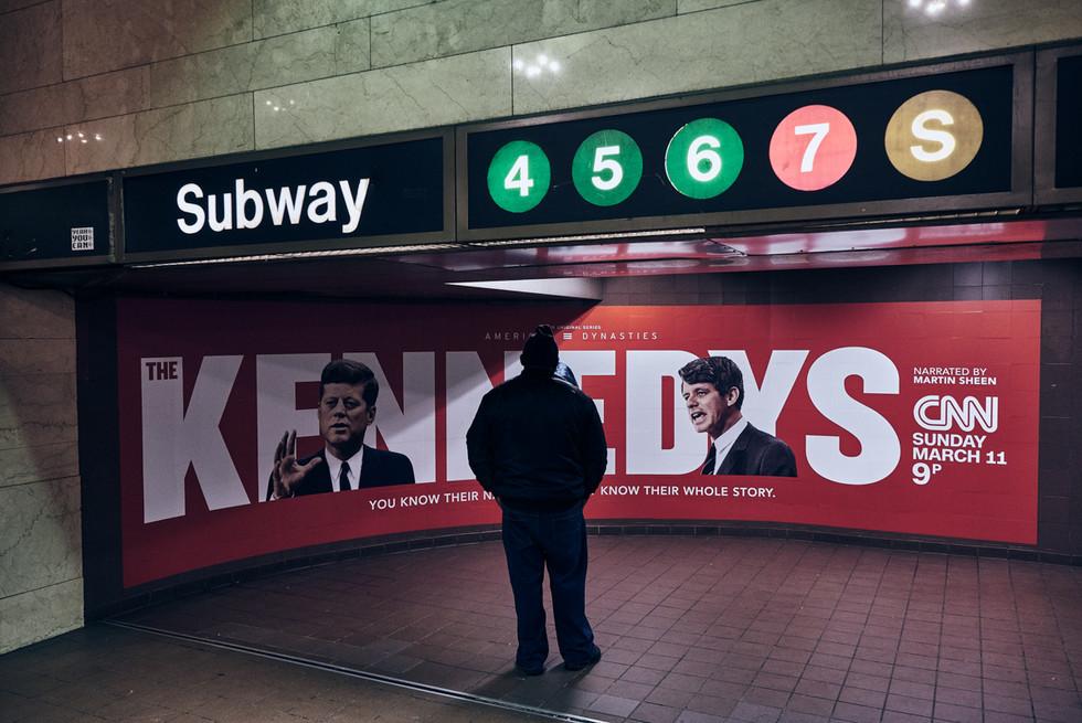 USA / New York City / 07.03.2018 / Inside Grand Central  subway station.