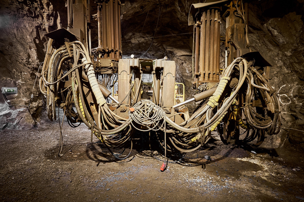 SWEDEN / Norrbottens laen / Kiruna / 08.03.2017 / Down the iron ore mine in Kiruna, at the visitors` centre of LKAB, the mining company. © Gregor Kallina / Anzenberger