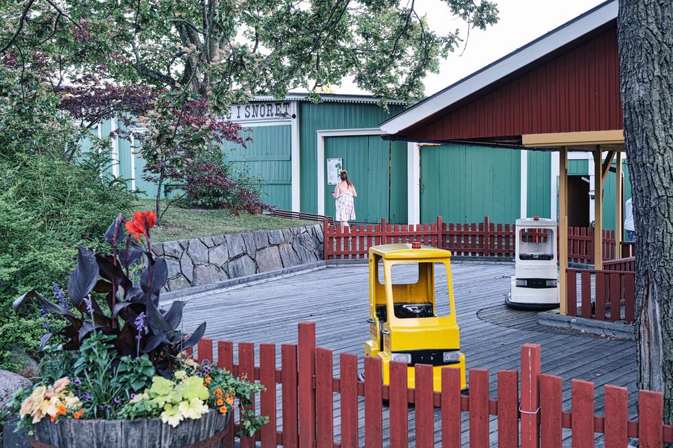 SWEDEN / Stockholm / 21.06.2019 / At Galejan, a small amusement park inside of Skansen, Stockholm`s open air museum. © Gregor Kallina