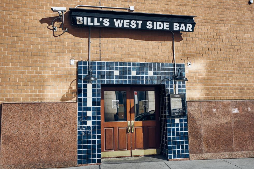 USA / New York City / 04.03.2018 /  Bar in Tribeca.