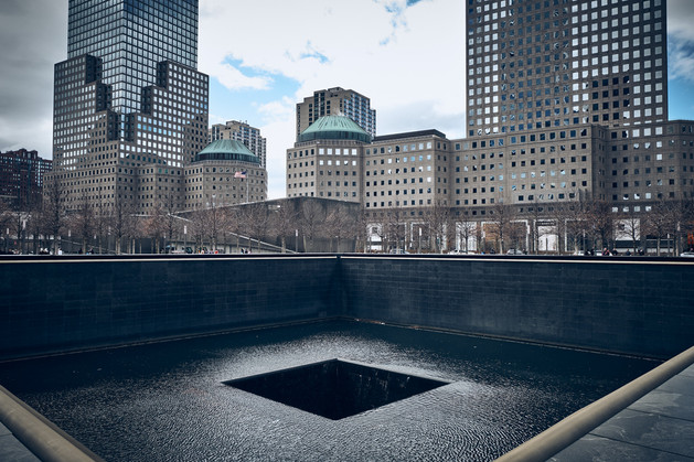 USA / New York City / 04.03.2018 /  World Trade Center, 9/11 Memorial.