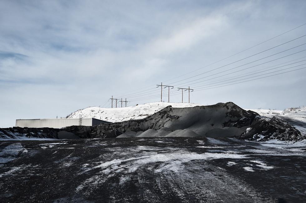 SWEDEN / Norrbottens laen / Kiruna / 15.03.2017 / The iron ore mine at Kirunavaara mountain in Kiruna © Gregor Kallina / Anzenberger