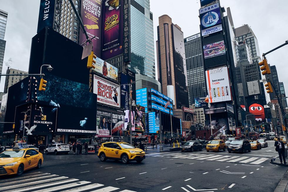 USA / New York City / 08.03.2018 /  Times Square